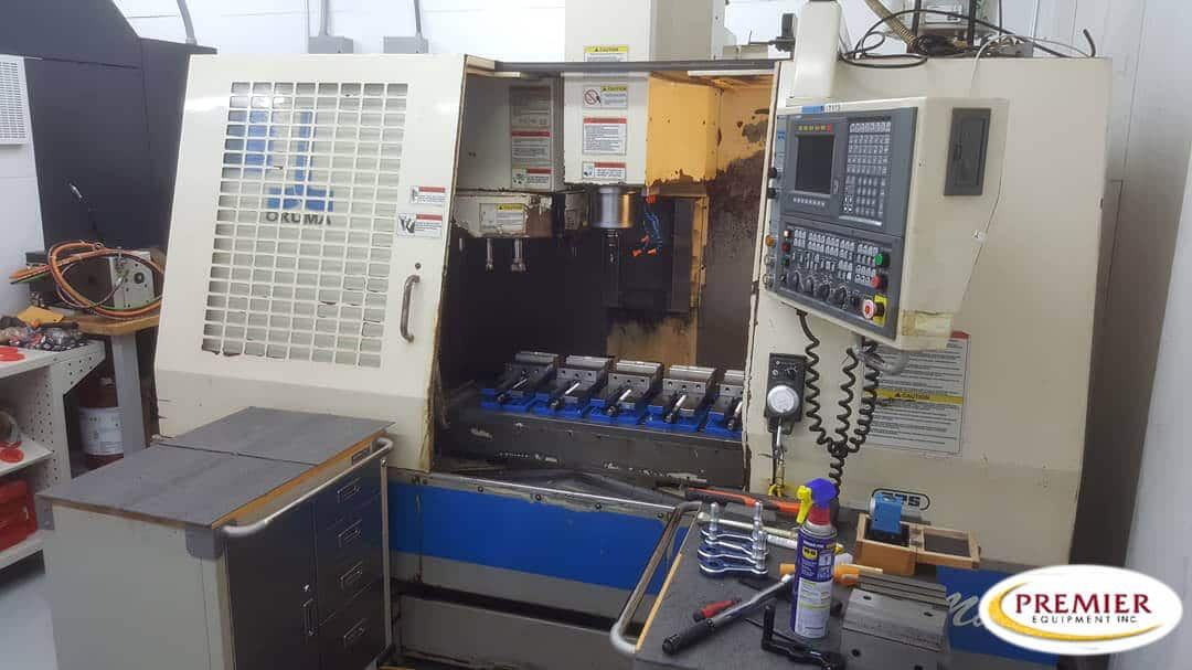 Okuma Cadet Mate CNC Vertical Machining Center