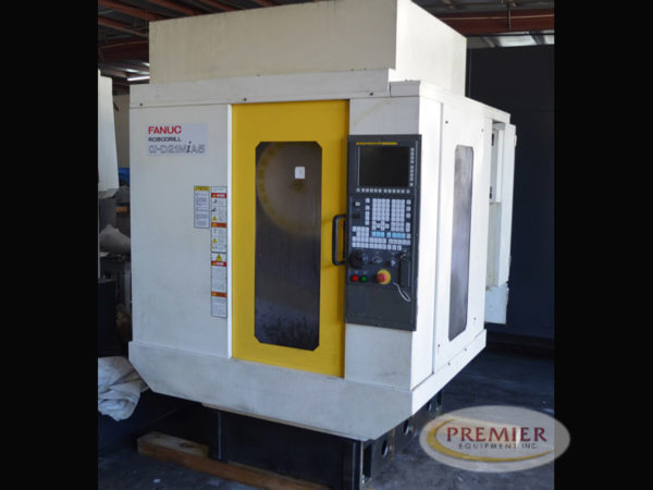 Fanuc Robodrill D21MiA5 with Rotary Table - 2013 1