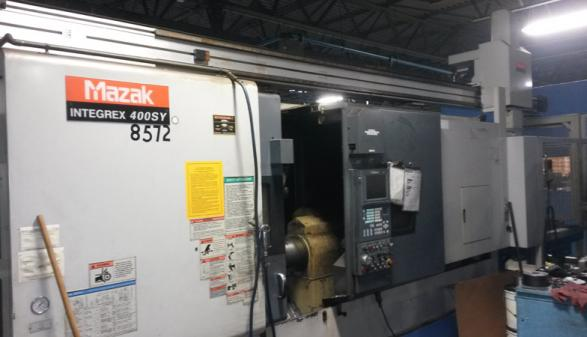 Mazak Integrex 400SY with Gantry (2000)