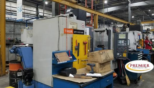 MAZAK MTV515/40N with Rotary Table - 2000