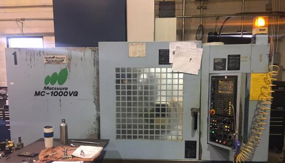 Matsuura MC-1000VG - 2003