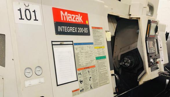 Mazak Integrex 200-3S - 2004
