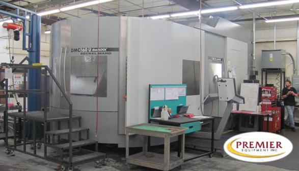 DMG DMC 160U Duo BLOCK 5-Axis - 2005