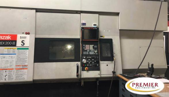 Mazak Integrex 200-3S w/Gantry - 2005