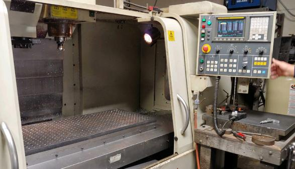 Hardinge-Bridgeport VMC-1000P3 - 2006