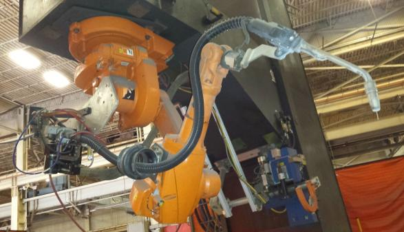 2006 Wolf Robotic Welding Cell