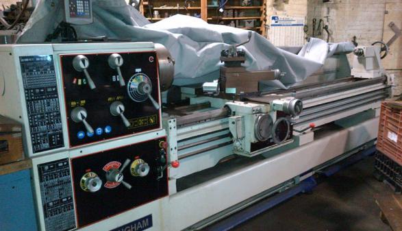 2007 Birmingham YCL 26x120 Engine Lathe