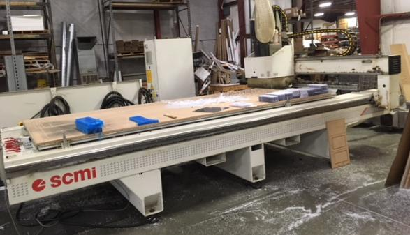 SCMI Bridge 5 CNC Router (2007)