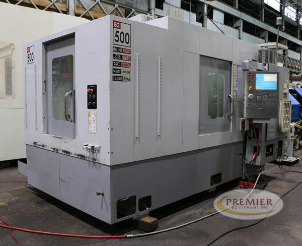 Haas EC500 - 2008 1
