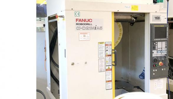 Fanuc Robodrill Alpha T21iF (5-Axis)