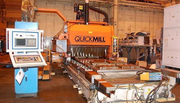 QUICKMILL Eliminator 60 CNC Gantry-Type Mill - 2009