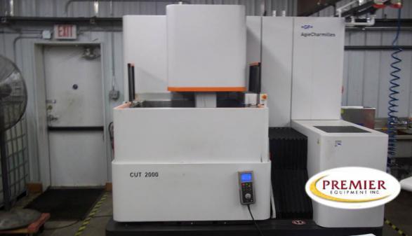 AgieCharmilles Cut 2000 CNC Wire EDM - 2011