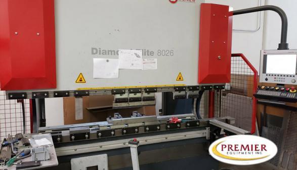 MC Machinery Systems (Mitsubishi) DENER Diamond Elite 8026