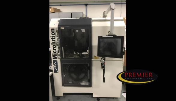 Microlution 5100-S High-Speed 5-Axis (2011)
