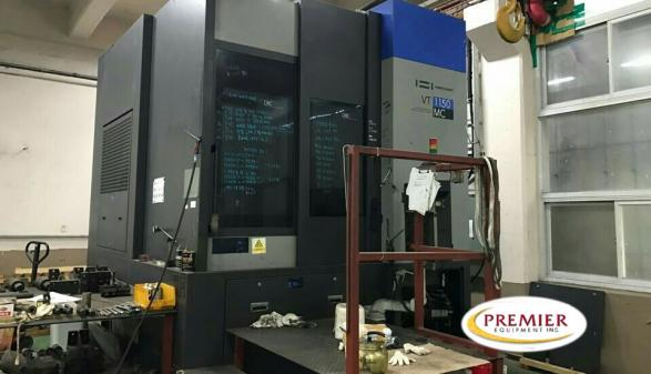 Hwacheon VT-1150MC VTL with Milling - 2011