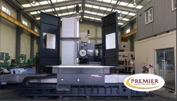 """Doosan DBC-130 5.12"""" CNC HBM - 2012"""