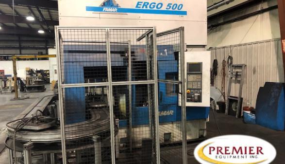 Famar Ergo 500 Inverted Lathe - 2012