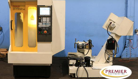 Fanuc Robodrill T21iFSA with Rotary Table - 2012