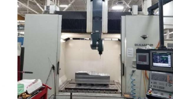 Parpas Diamond  5 Axis Linear Gantry Type VMC - 2012