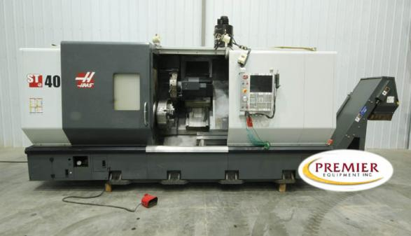 Haas ST-40 Big Bore Chucker with Milling - 2012