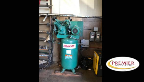 Champion VR10-8 Compressor & Kaeser TA11 Dryer