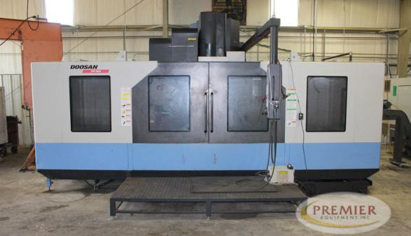 Doosan VM960 with 4th Axis - 2013