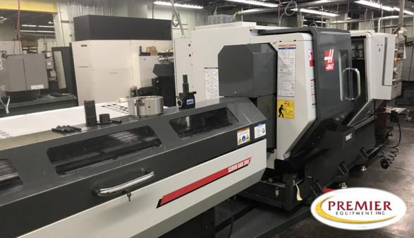 Haas ST-20 Chucker with Milling - 2013