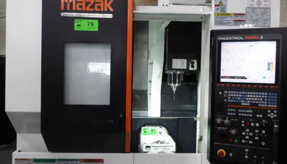 Mazak Vertical Center Univ 400A-5X - 2013