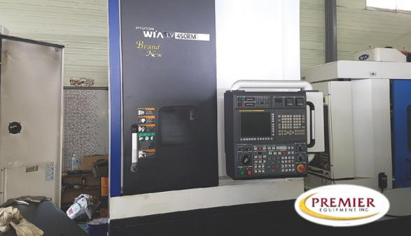 HYUNDAI WIA LV 450RM (2014)