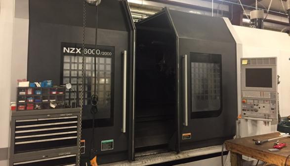 2014 DMG Mori NZX6000D/2000