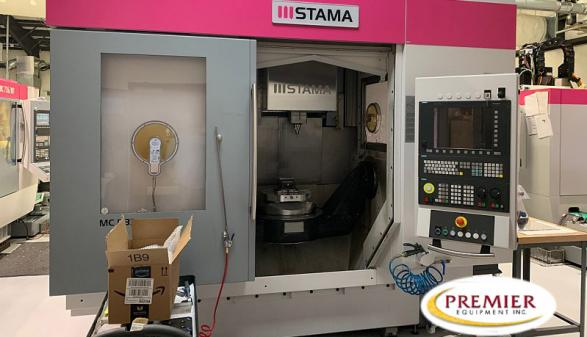 Stama MC533 5-Axis VMC - 2014