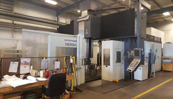 2014 CORREANAYAK VERSA 55 5-AX CNC BRIDGE MILL