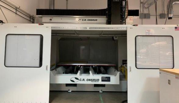 CR ONSRUD, F98E 5 AXIS CNC Router - 2017