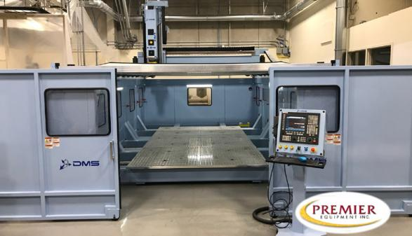 DMS 5-Axis U-Frame Overhead Gantry Machine (2018)