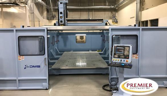 DMS 5-Axis U-Frame Overhead Gantry Machine (2018)