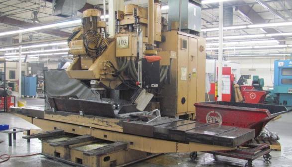 CINCINATI 20V-80   (5-Axis Mill)