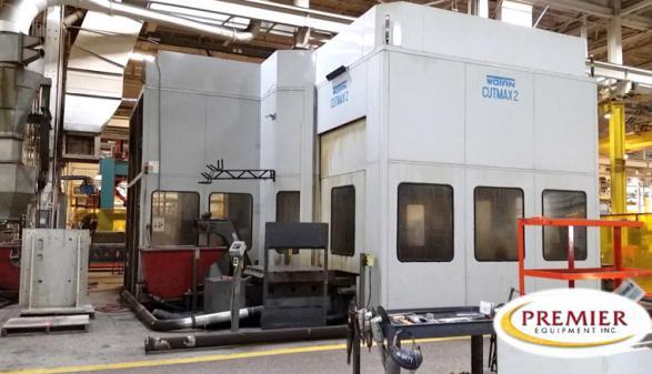 "Wotan Cutmax 2 2-Pallet 4.75"" CNC HBM - 1996"