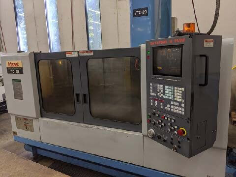 Mazak VTC20B Used CNC Mill