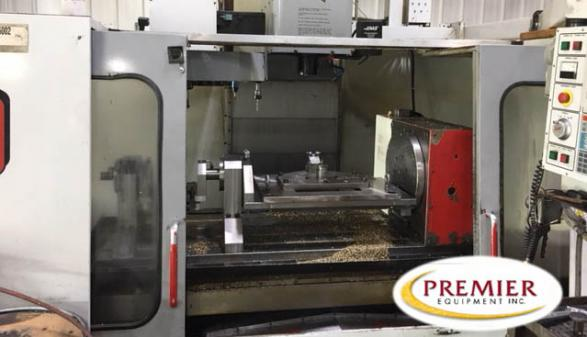 Haas VF-6/40 with Rotary Table - 1998
