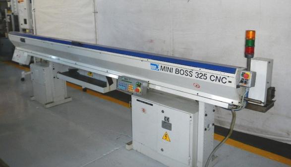 IEMCA MODEL MINI BOSS 325 CNC BAR FEEDER