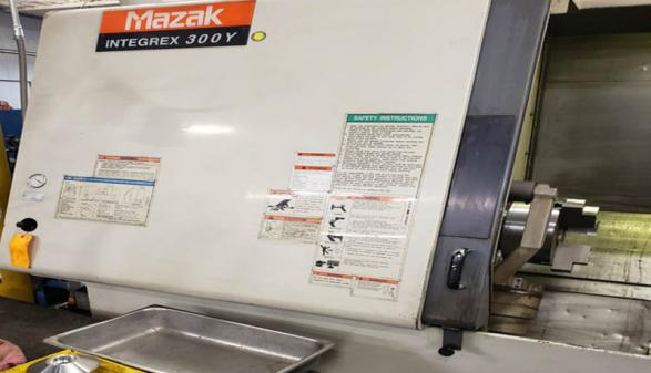 Mazak Integrex 300Y - 1999