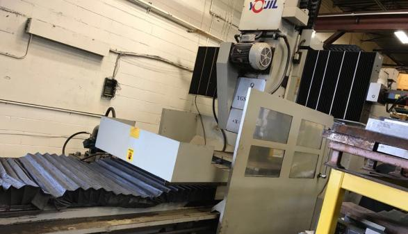 1999 Youil YGS-3010 Doulbe Column CNC Surface Grinder