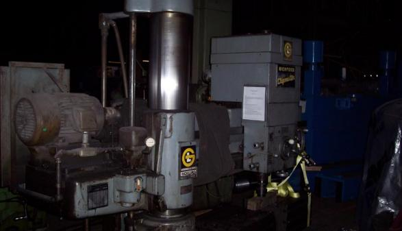 Giddings & Lewis Bickford Chipmaster Radial Drill