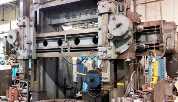"Betts Heavy Duty 100"" Vertical Boring Mill"