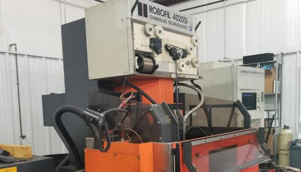 Charmilles Robofil 4020si CNC Wire EDM