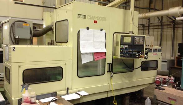 Makino Seiki CNV-1200B  CNC Broach Grinder