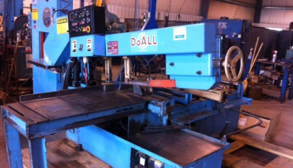 DoAll 916 Horizontal Band Saw (No.2)