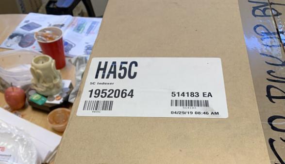 Haas HA5C Indexer - New in Box