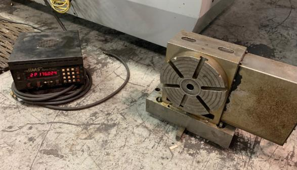 Haas Rotary Table and Haas Servo Control