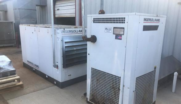 Ingersoll-Rand SSR-EP60 Screw Compressor